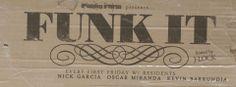 FUNK IT logo + FB Cover Pic