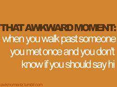 #Awkward!