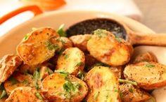 Coriander-Roasted Potato Salad - Scarletta Bakes by jami Potato Dishes, Vegetable Side Dishes, Vegetable Recipes, Vegetarian Recipes, Healthy Recipes, Potato Recipes, Cooking Recipes, Chef Recipes, Yummy Recipes
