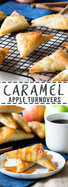 Caramel Apple Turnovers with Filo Pastry | The Worktop More