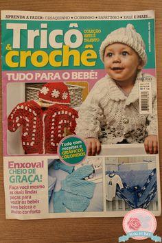 Blog By Day: Revista Tricô e Crochê  nº 1 Ed. Minuano
