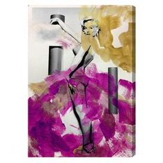 Stand Up Canvas Print, Oliver Gal