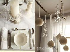 Decoración en Blanco para Navidad – Ideas Y Trucos de Decoración