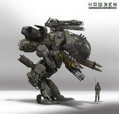 mecha do jogo hawken
