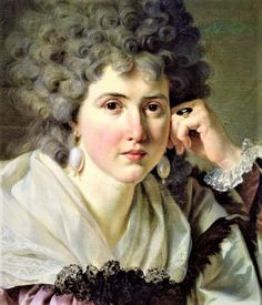 Madame Nicaise Perrin by Jean Charles Nicaise Perrin