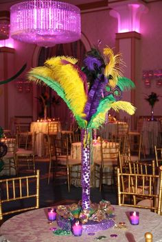 Mardi Gras Themed Sweet 16 in The Grand Ballroom at Event Space-The Grove in New Jersey.
