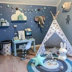 How to succeed the Montessori baby room? Baby Bedroom, Baby Room Decor, Kids Bedroom, Montessori Room, Boy Room, Child Room, Kids Decor, Playroom, Toddler Bed