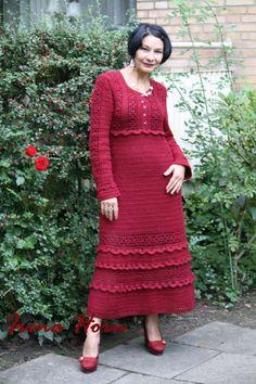 Платье Брусника , Ирина Хорн