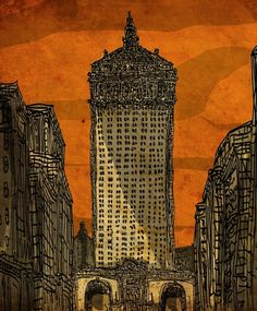 gilded age of nyc — ERosner Illustrations