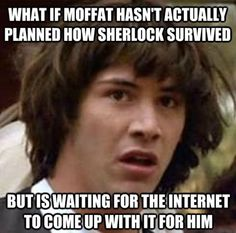 Heheh, naw, only Moffat could pull it off, but maybe he'll throw in the John-punch to appease us.