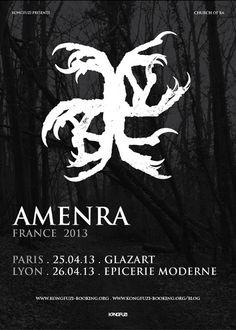 AMENRA en concert à Paris et Lyon !!