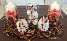 Lewisville Love: Last minute Thanksgiving Table decor