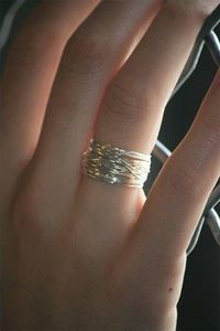 How to make Jewelry Rings   No time at all and you've got yourself a cute fashionable ring!