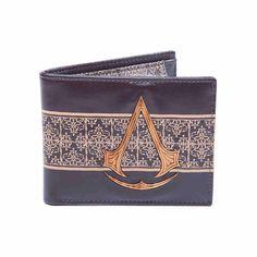 Assassin's Creed - Bifold portemonnee met houten logo en versiering b