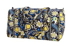 Planning to travel??? Vera Bradley Large Duffle in Ellie Blue
