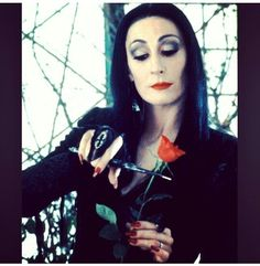 Morticia Adams ♡  #Gorgeous #Obsessed