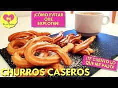 Cómo hacer CHURROS CASEROS y EVITAR QUE EXPLOTEN 😱 ¡¡A MÍ ME PASÓ!! - YouTube Onion Rings, Sausage, Meat, Ethnic Recipes, Youtube, Food, Churro Recipe, Homemade Recipe, Healthy Recipes