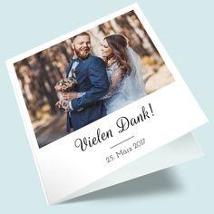 Foto-Dankeskarten zur Hochzeit: Die Chemie stimmt