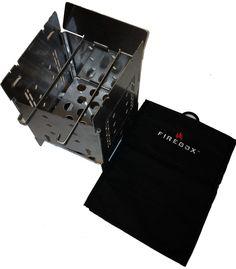 The Firebox Stove with Cordura Bag
