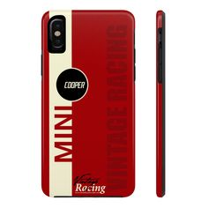 Excited to share this item from my shop: Mini Cooper Red Phone Case For Iphone And Galaxy Phones Mini Cooper S, Galaxy Phone, Phones, Iphone Cases, Etsy Shop, Unique Jewelry, Handmade Gifts, Red, Wheels