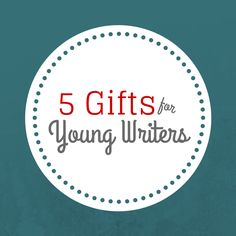 Young writers are awesome. Talking to them makes me excited all over again about my projects — and theirs! If you want to encourage a young writer in your life, gifts are always appreciated.