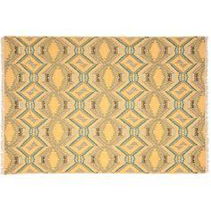 One Kings Lane - Designer Couture Rugs - David Easton Bengal Rug,... via Polyvore