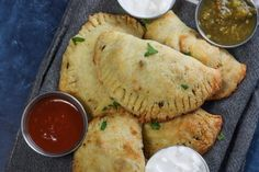 How to Make Empanadas: These Ground Beef Empanadas are made with a ketogenic and low carb fathead dough then filled with flavorful ground beef.