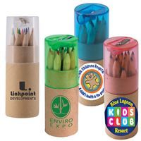 Wide range of promotional colour pencil in cardboard tube corporate branded and printed with your brand logo. It's perfect for colouring drawing books. #PromotionalcolourPencil #printedcolorPencil #CustomcolourPencil #personalisedcolourPencil #customprintedcolourPencil #Printedcardboardtube #cardboardtube