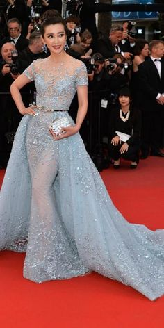 The Best of the 2015 Cannes Film Festival Red Carpet - Li Bingbing from #InStyle