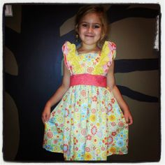 For the love of ruffled feathers - Laila dress - Special Order on Little Goose