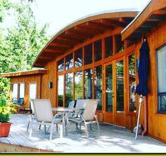 #House #Cottage #Timber #Fir #Natural #Vacation #Summer #Ocean
