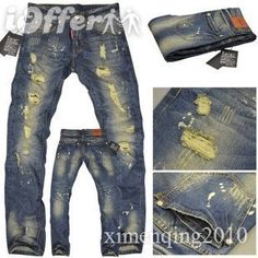 2011 NEW DSQUARED JEANS DSQUARED 2 JEANS D2 MEN'S JEANS...LOVE LOVE LOVE