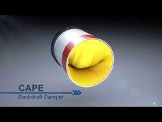 Cape Back Draft Damper Tamarack Technologies - Stop Backdrafts from dryer vents, bath fan vents and range hood exhaust. Draft Blocker, Whole House Fan, Campervan Ideas, Bathroom Exhaust Fan, Save Energy, Cape, Technology, Dryer, Mini