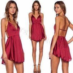 I just discovered this while shopping on Poshmark: NBD Get Out Dress in Berry. Check it out!  Size: M