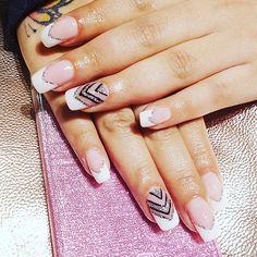 Nail Gorgeousness #polishnailspa #chandigarh #ludhiana #love #nails #nailart #nailspa #artist #tbt #like4like #followme #frenchmanicure #gelish #shellac #hudabeauty #neerubajwa #deepikapadukone #cute #naillove #nailstagram #nails2inspire #nailpromote by polish_nail_spa_