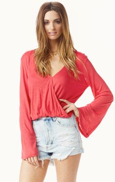 hayley top by BLUE LIFE