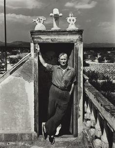 Joan Miró on his Studio, Spain 1948 by Irving Penn