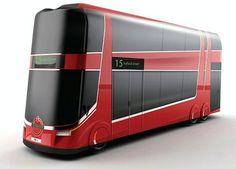 Futuristic Bus Design