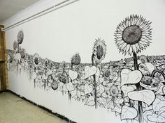 Drawing On Walls With Permanent Markers – Mattias Uyttendaele