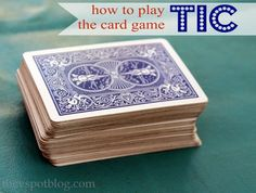 """The V Spot: How to play the card game """"Tic"""" and other camping favorites."""