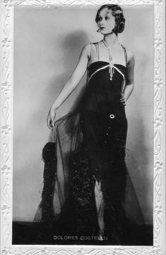 dolores costello dress