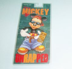 1994 Disney Mickey Unrapped CD Compact Disc Sealed In Package Unused With Whoopi Goldberg SOLD!