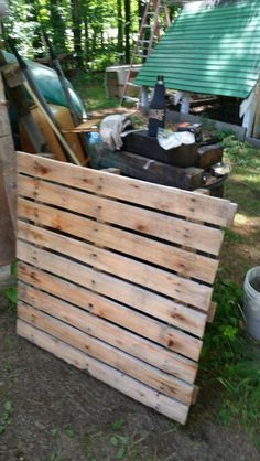 Pallet ideas by Scopa. #1 get pallet lol