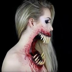 "165.1k Likes, 6,472 Comments - Makeup•Sfx•Artistic•Cosplay (@crazy.makeups) on Instagram: ""Crazy Makeup!  By @simple.symphony FOLLOW us @crazy.makeups for more.... . Use #crazymakeups to…"""