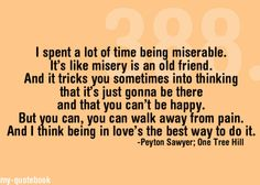 OTH speaks to my heart . .