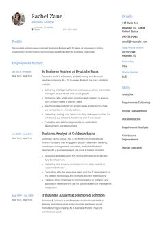 Sample Business Resumes 12 Best Business Analyst Resume Samples Images On Pinterest