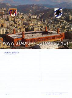€ 1,50 - code : ITA-019 - Genova - Ferraris - stadium postcard cartolina stadio carte stade estadio tarjeta postal