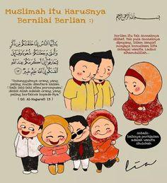 Muslimah yang bernilai berlian :)