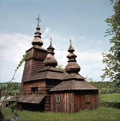 Slovakia,Wooden Church Potoky