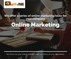 We offer a series of online marketing tools for your company. Click on website link for more information. #hashtagonline #onlinemarketing